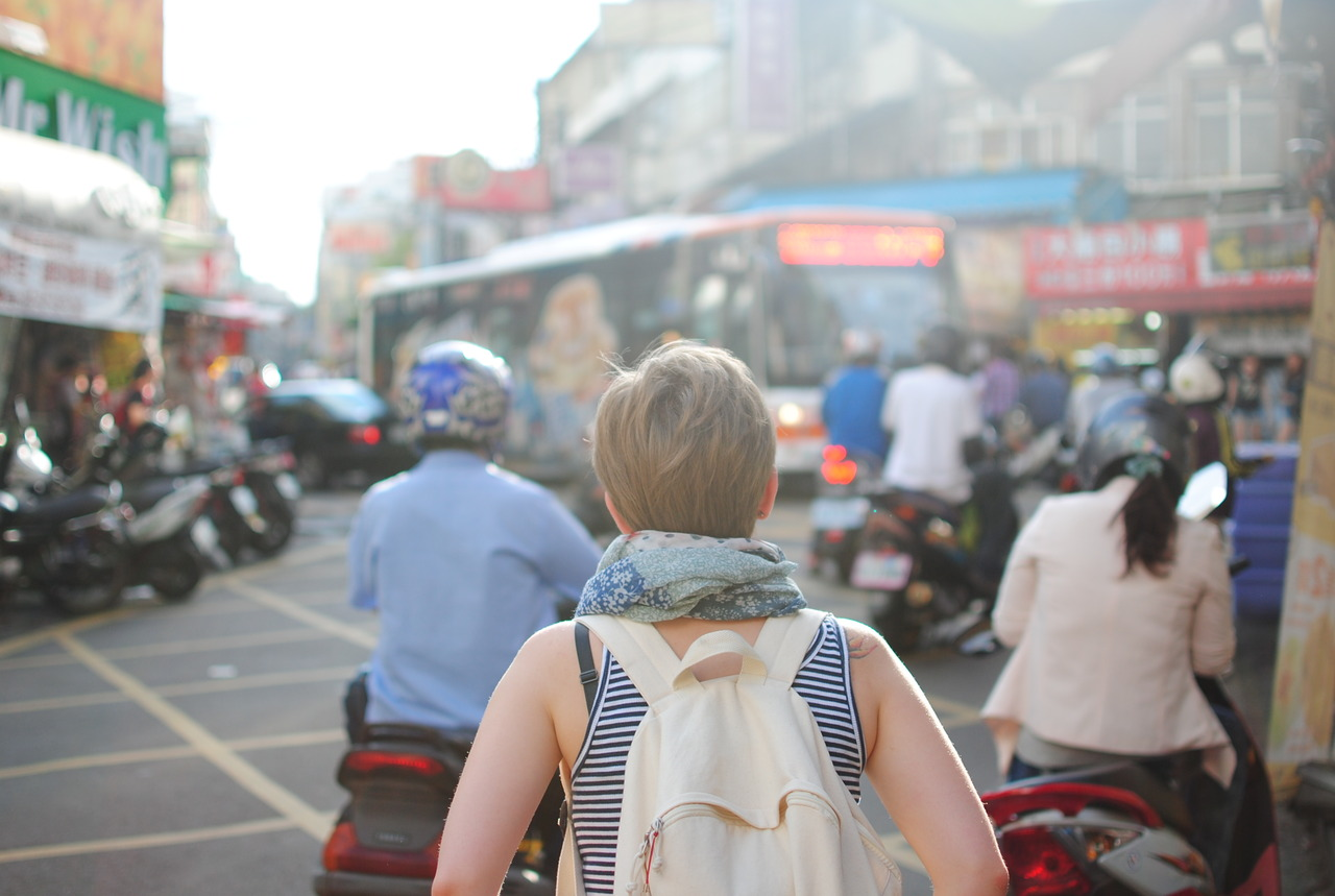 Taking A Walk Downtown India