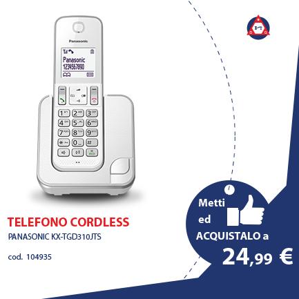 PANASONIC TELEFONI E FAX – KX-TGD310JTS