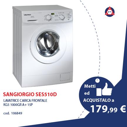 SANGIORGIO IT WASH – SES510D