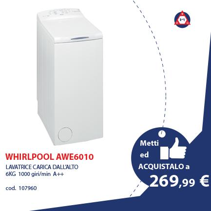 WHIRLPOOL – AWE 6010