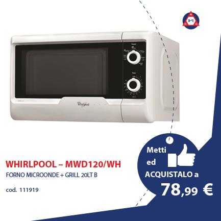 WHIRLPOOL – MWD120/WH
